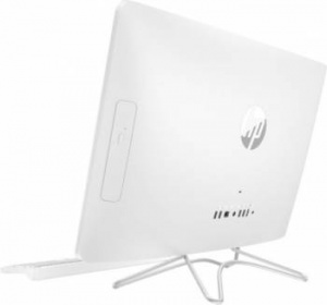 "2BW37EA Моноблок HP 24-e043ur 23.8"" Full HD i3 7100U (2.4)/4Gb/1Tb 7.2k/HDG620/DVDRW/Windows 10/GbitEth/WiFi/BT/клавиатура/мышь/Cam/белый 1920x1080"