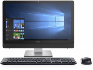 "3464-9095 Моноблок Dell Inspiron 3464 23.8"" Full HD i5 7200U (2.5)/8Gb/1Tb 5.4k/GF920MX 2Gb/DVDRW/Linux/Eth/WiFi/BT/клавиатура/мышь/Cam/черный 1920x1080"