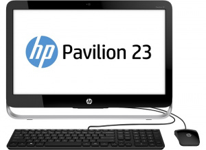"V2F84EA#ACB HP Pavilion 23 23-q201ur 23""IPS FHD LED non touch,Core i3-6100T,4Gb (1x4Gb),1Tb,Intel HD Graphics,DVD RW,usb kbd/mouse,silver-white,Win 10"