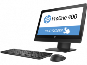 "2KL26EA#ACB HP ProOne 400 G3 All-in-One Touch 20""(1600x900) Core i5-7500T,8GB DDR4-2400 (1x8GB) SODIMM,256GB,DVD,usb kbd&mouse,Intel 7265 AC 2x2 BT,Easel Stand,Wi"