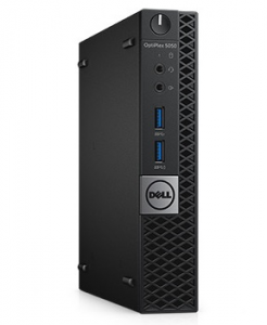 Dell Optiplex 5050 Micro Core i7-7700T (3,6GHz),8GB (1x8GB) DDR4,1TB (7200 rpm)+16GB Intel® Optane™ Intel HD 630,W10 Pro,TPM, VGA,3 years NBD