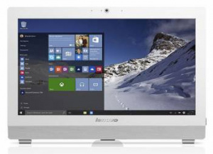"10K50022RU Моноблок Lenovo S200z 19.5"" HD+ Cel J3060/4Gb/500Gb 7.2k/DVDRW/Windows 10 Home Single Language 64/WiFi/BT/клавиатура/мышь/Cam/белый 1600x900"