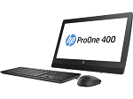 "2KL10EA#ACB HP ProOne 400 G3 All-in-One NT 20""(1600x900) Core i3-6100T,4GB DDR4-2400 (1x4GB)SODIMM,500GB,DVD,usb kbd&mouse,Intel 7265 AC 2x2 BT,Easel Stand,Win10P"