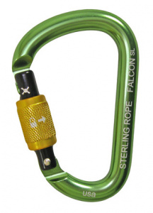 Falcon Screwlock Small Pear Carabiner