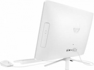 "Y0Z49EA Моноблок HP 22-b080ur 21.5"" Full HD A6 7310 (2)/4Gb/500Gb 7.2k/R4/DVDRW/Windows 10/GbitEth/WiFi/BT/клавиатура/мышь/белый 1920x1080"