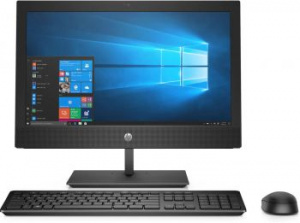 "4NT79EA Моноблок HP ProOne 400 G4 20"" HD+ i3 8100T (3.1)/4Gb/1Tb 7.2k/UHDG 630/DVDRW/CR/Windows 10 Professional 64/GbitEth/WiFi/BT/120W/клавиатура/мышь/Cam/че"