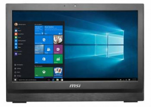 "9S6-AA7811-029 Моноблок MSI Pro 20 6M-029RU 20"" HD+ P G4400T (2.9)/4Gb/1Tb 7.2k/HDG/DVDRW/Windows 10 Home Single Language/GbitEth/WiFi/BT/65W/клавиатура/мышь/Cam/чер"