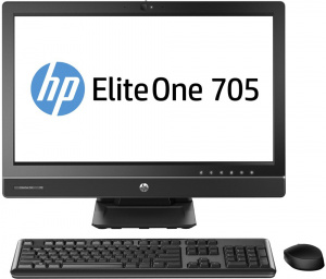 "J4V29EA Моноблок HP EliteOne 705 G1 All-in-One 23""(1920x1080)WLED IPS AMD A10 PRO-7800B, 4GB, 500GB(7200rpm)HDD, DVD+/-RW,SATA, stand, GigEth, k+m, Win7Pro"