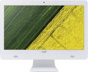 "DQ.B6XER.007 Моноблок Acer Aspire C20-720 19.5"" HD+ Cel J3060/4Gb/1Tb/HDG/DVDRW/CR/Free DOS/GbitEth/WiFi/BT/клавиатура/мышь/Cam/белый 1600x900"