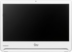 "1072301 Моноблок IRU Office S2302 23.6"" Full HD i3 5005U (2)/4Gb/1Tb 5.4k/HDG5500/DVDRW/CR/Windows 10 Professional 64/GbitEth/WiFi/65W/Cam/белый 1920x1080"