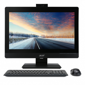 "DQ.VPGER.073 ACER Veriton Z4640G  All-In-One 21,5"" FHD(1920x1080), Pen G4560, 4GbDDR4, 500GB/7200, Intel HD, DVD-RW, WiFi+BT, COM, USB KB&Mouse, black, Win10Pro 3Y"