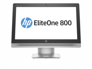 "X3J99EA#ACB HP EliteOne 800 G2 All-in-One 23"" (1920 x 1080) NT Core i7-6700,8GB DDR4-2133(1x8GB),256GB 3D SSD,DVD,Wrless kbd&mouse,No mouse,Adjustable St,Intel 80"