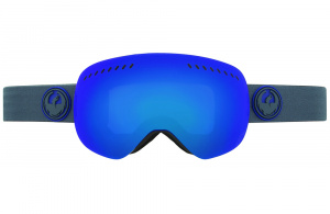 snow) APXS (оправа Carbon, линзы Dark Smoke Blue Ionized + Yellow Blue Ionized)