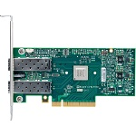 MCX312A-XCBT Mellanox ConnectX®-3 EN network interface card, 10GbE, dual-port SFP+, PCIe3.0 x8 8GT/s, tall bracket, RoHS R6