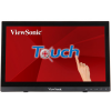 "TD1630-3 Монитор жидкокристаллический ViewSonic Монитор LCD 16"" [16:9] 1366х768(WXGA) TN, nonGLARE, TOUCH, 220cd/m2, H90°/V60°, 500:1, 10M:1, 12ms, VGA, HDMI,"