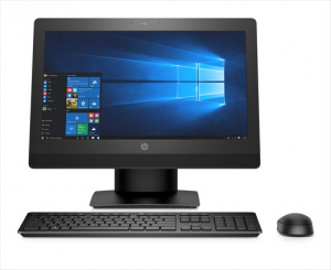 "2KL27EA#ACB HP ProOne 400 G3 All-in-One Touch 20""(1600x900) Core i5-7500T,8GB DDR4-2400 (1x8GB) SODIMM,1TB,DVD,usb kbd&mouse,Easel Stand,Intel 7265 AC 2x2 BT,Win1"