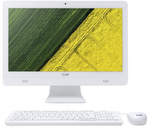 "DQ.B6XER.006 Моноблок Acer Aspire C20-720 19.5"" HD+ Cel J3060/4Gb/500Gb/HDG/DVDRW/CR/Free DOS/GbitEth/WiFi/BT/клавиатура/мышь/Cam/черный"