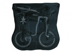 Bike bag with logo