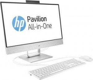 "2MJ56EA Моноблок HP Pavilion 24-x005ur 24"" Full HD Touch i5 7400T (2.4)/8Gb/1Tb 7.2k/HDG630/Windows 10/GbitEth/клавиатура/мышь/Cam/белый 1920x1080"