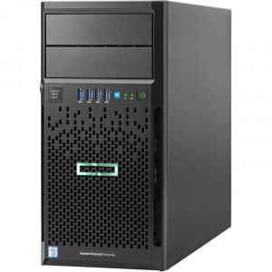 872658-421 ProLiant ML30 Gen9 E3-1220v6 Hot Plug Tower(4U)/Xeon4C 3.0GHz(8MB)/1x8GBU1D_2400/B140i(ZM/RAID 0/1/10/5)/noHDD(4)LFF/noDVD/iLOstd(no port)/1NHPFan/2x1