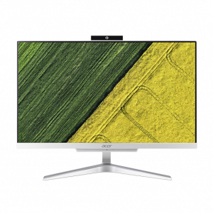 "DQ.BAEER.008 ACER Aspire C22-860  All-In-One 21,5"" FHD(1920x1080),  i3 7130U, 4GbDDR4, 1TB/5400, Intel HD, noDVD-RW, WiFi+BT,USB KB&Mouse, silver, Win10Pro 1Y carr"