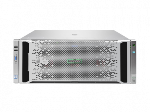 816815-B21 Proliant DL580 Gen9 E7-8890v4 Rack(4U)/4xXeon24C 2.2GHz(60Mb)/16x16GbR1D_2400(8xMC)/P830i(4Gb/RAID0/1/10/5/50/6/60)/noHDD(5/10up)SFF/4HPFans/OVadv/2x1